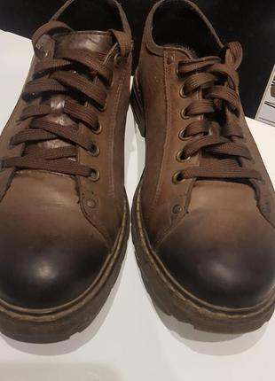 Туфли броги giatoma niccoli
