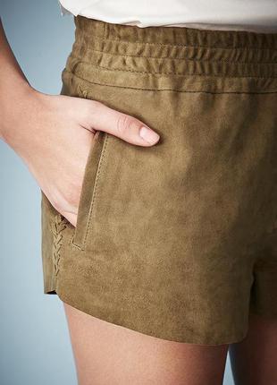 Замшевые шорты бохо topshop