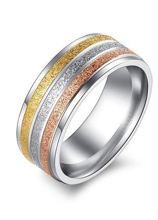 Кольцо амаранта с цветным напылением 19 размер