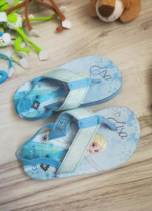 Вьетнамки шлепанцы шлепки для девочки flip flop frozen 25 размер