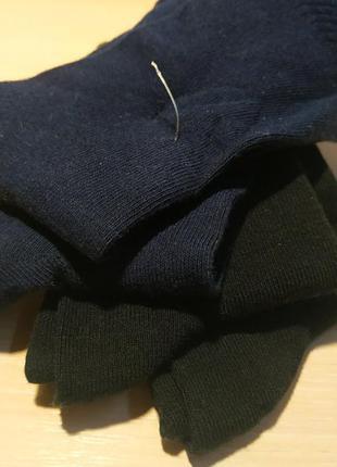 Комплект носков (4 пары) чёрные и синие классика р. 35/38 германия