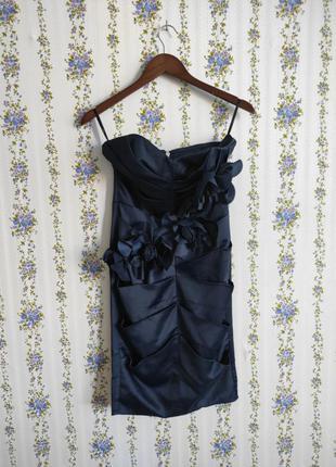 Красивое платье бюстье