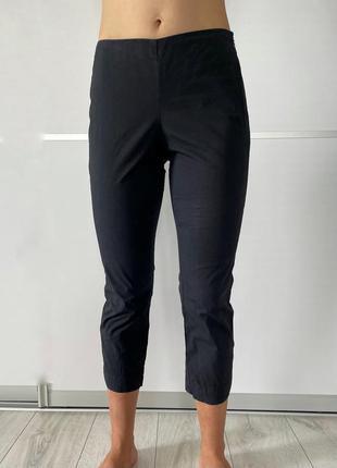 Капри, капрі жіночі чорні, укорочені штани maliparmi, темно синие капри.