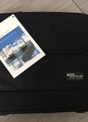 Сумка для ноутбука для подорожей до ноута basic case  travel дорожня сумка кейс
