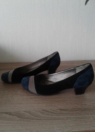 Туфли замшевые ( натуральная замша )
