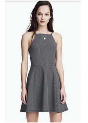 Сарафан в сердечко короткое платье