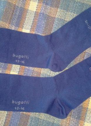 Носки bugatti, классические, хлопковые