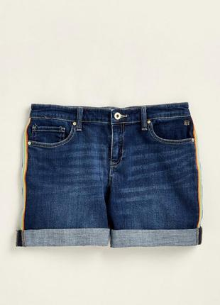 Джинсовые шорты от tommy hilfiger