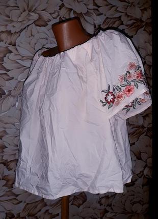 Топ,блуза,вишиванка 100% caton