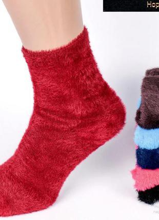 Носки из меха. норка 50%