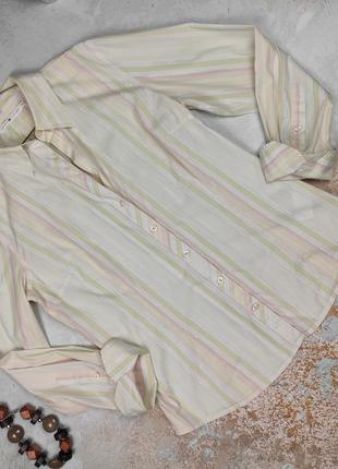 Блуза рубашка красивая  винтаж оригинал tommy hilfiger uk 12/40/m