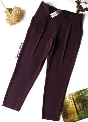 Нові фіолетові класичні завужені штани, новые фиолетовые брюки wallis