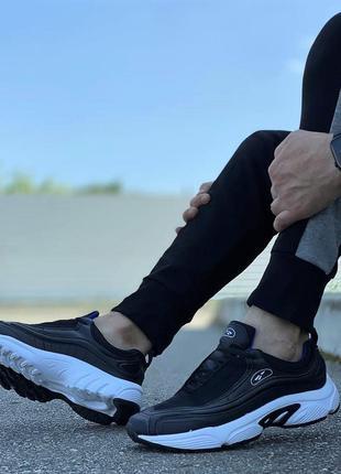 Чоловічі кросівки чорні спортивні (а-083-5)