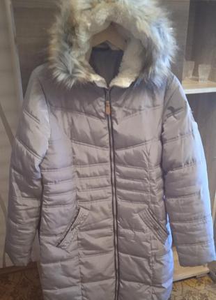 Женское теплое пальто германия