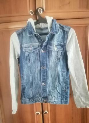 Джинсовый пиджак 164 рост