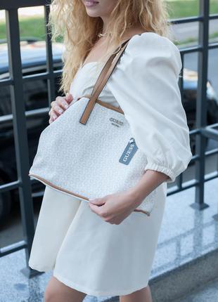 Нова сумка 2в1 з додатковою сумочкою. шопер.