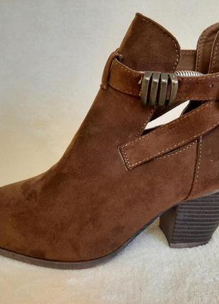 Стильные туфли, ботинки фирмы atmosphere p.38 стелька 24,5 см