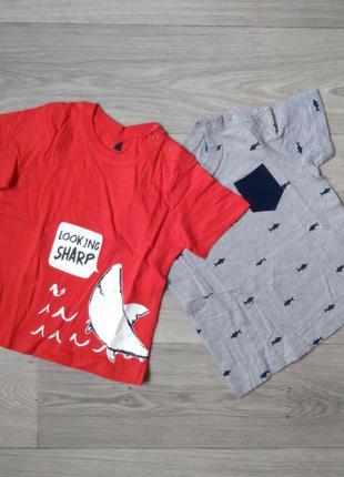 Футболка набор набір футболок lupilu 98-104 110-116
