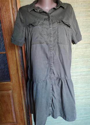 Сарафан/платье-рубашка
