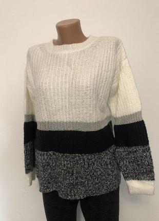 Женский вязанный свитер oversize george