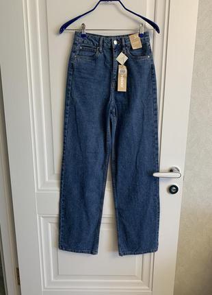 Офигенные джинсы прямые, клеш, широкие джинсы