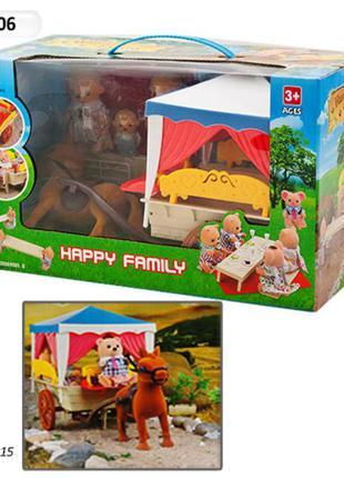 Набір флоксових тваринок «щаслива сім'я»