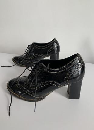 Ботильоны, укороченные ботинки на каблуке, женская обувь на осень, gioia de rossi, ботильоны италия.