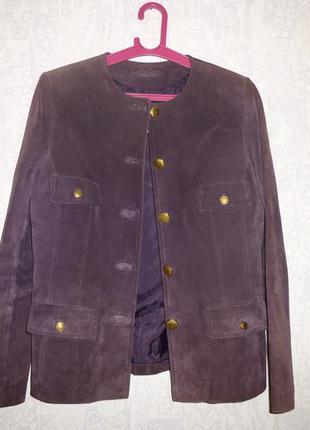 Замшевая куртка, френч