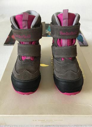 Timberland высокие ботинки,размер 32