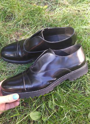 Туфли кожа италия женские