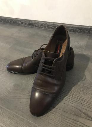 Lloyd кожаные мужские туфли, германия.