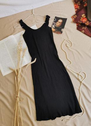 Винтажное шёлковое платье issey miyake