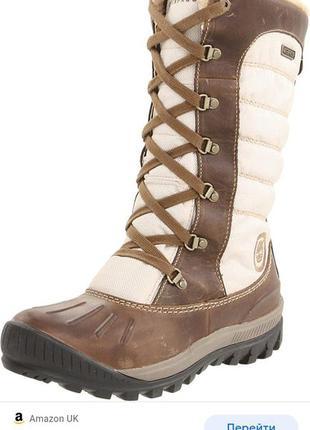 Водонепроницаемые ботинки зимние на меху timberland
