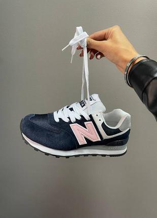 New balance 574 кроссовки беленсы