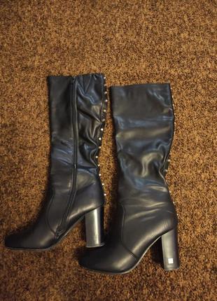 Сапоги женские сапожки чоботы