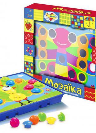 Детская мозаика с крупными деталями ki-7060 с 12ю картинками