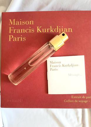 ❤ maison francis kurkdjian baccarat rouge 540 extrait тревел флакон