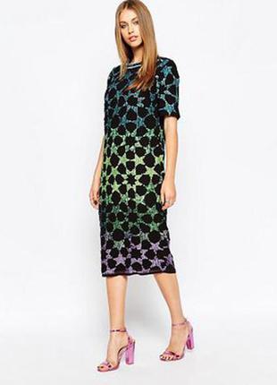 Чарівне плаття asos ефект амбре.