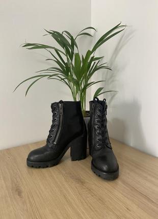 Кожаные демисезонные ботинки оригинал натуральная кожа ash