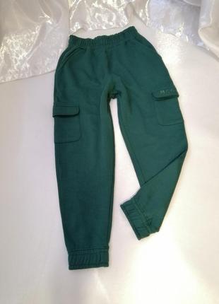 Тёплые мягкие штаны на флисе