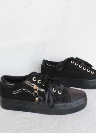 Черные кеды, кроссовки 39 размера