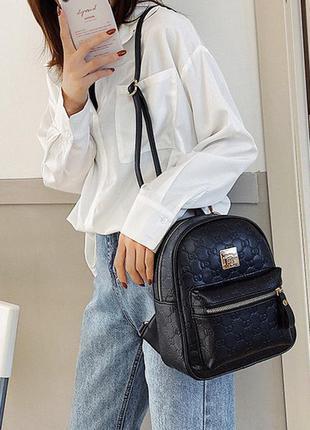 Женский качественный мини рюкзак