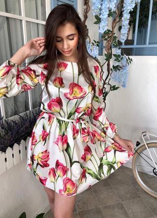 Платье шёлк🤍