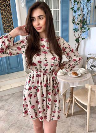 Платье шёлк 🤍