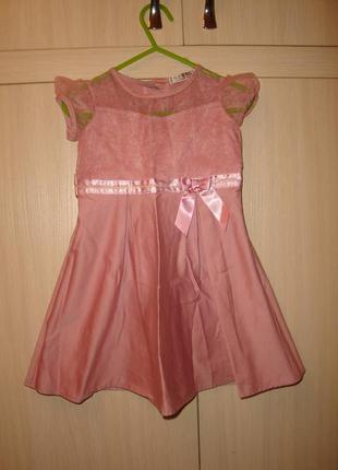 George нарядное платье  на 1-2 года