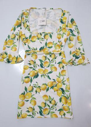 Плаття в лимони missguided
