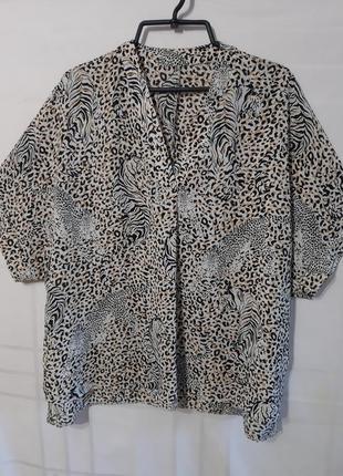 Шикарная блузочка большого размера