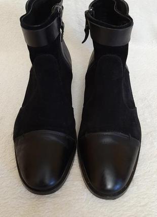 Натуральные кожаные ботинки фирмы max p.38 стелька 25 см
