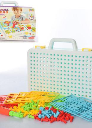 Детская мозаика в чемодане 338a , 146 деталей