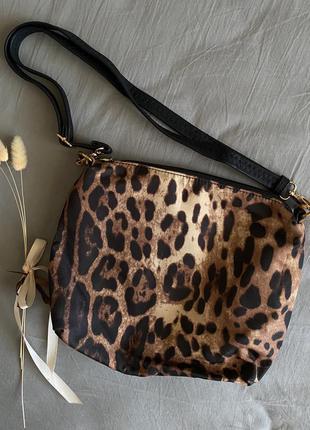 🏷 леопардовая сумка